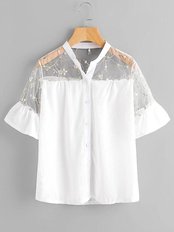 Damen Summer Blousen Ex+Cr — блузки